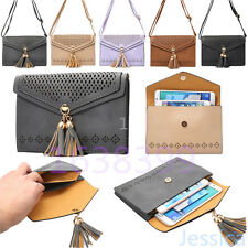 Chic Universal Leather Cell Phone Pocket Purse Shoulder Bag Pouch Case Handbag