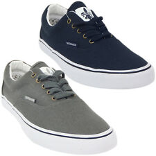 Mens Trainers Twisted Faith Plain Navy Trainer Shoe Footwear New