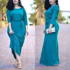 Plus Size Summer Womens Bodycon Evening Party Cocktail Bandage Maxi Long Dresses