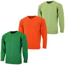 Proquip Mens Crew Neck Lambswool Sweater Water Repellent Golf Pullover