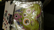 4 X MONSTER FACE MASKS  MADE OF CARD KIDS PARTY BRAND NEW