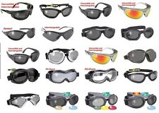 Airfoil KDs Sunglasses Motorcycle Harley Shades Goggles Padded Riding Mens Girls