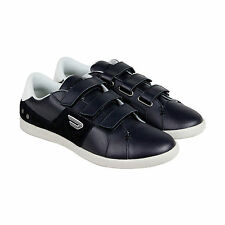 Diesel Gotcha Strap Mens Black Leather Velcro Strap Sneakers Shoes