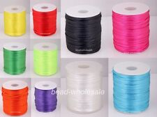 10m Nylon Chinese Knot Beading Jewelry Cords Thread 2mm Dia