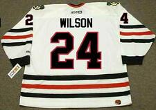DOUG WILSON Chicago Blackhawks 1988 CCM Throwback Home NHL Hockey Jersey