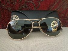 Ray-Ban Cockpit Aviator Sunglasses with Case - RB3362 -Gold