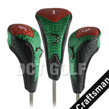 Golf Iron Wood Head Cover Headcover For Cleveland Taylormade Driver Fairway Wood