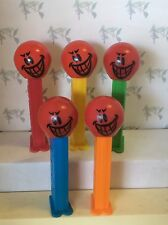 PEZ - Funky Faces - Devious Face -  5.9 Slovenia - Choose stem color