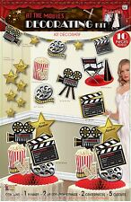 Hollywood 'At The Movies' Decoration Pack Kit Oscars Party Night Celebration
