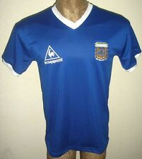 RETRO VINTAGE ARGENTINA WORLD CUP 1986 MARADONA #10 SOCCER JERSEY AWAY SHIRT