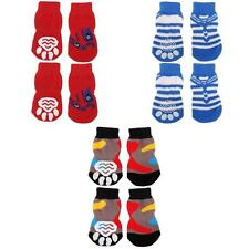 Pet Dog Puppy Doggie Socks Paws Covers Protector w/ Non-slip Bottom S/M/L/XL