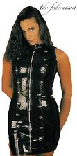 THE FEDERATION RUBBER LATEX D,RING LACE UP  DRESS BRAND NEW CROSS DRESS