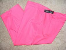 new COUNTERPARTS slimming sensations TULIP dark pink 22W capri clam digger pants