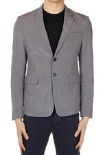PRADA Men New Gray Two Buttons Single Breasted Blazer Jacket with tags original