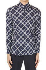 PRADA Men Long Sleeved Cotton Checked Shirt Made in Italy New with Tag