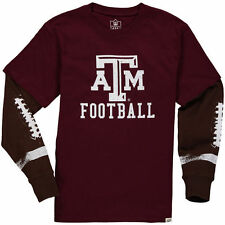 Wes & Willy Texas A&M Aggies Youth Maroon Football Fooler Long Sleeve T-Shirt
