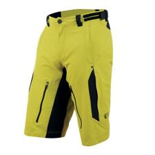 Pearl Izumi MTB Launch bike Shorts Yellow, removable Inner trouser lining + Bags