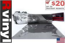 Rtint Smoke Tint Film Wrap for Head Tail Fog Lights Daytime Running Clear & More