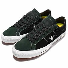 Converse CONS One Star Pro Suede OX Black White Mens Skateboarding Shoes 153477C
