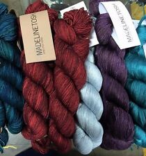 Madelinetosh Pure Mulberry Silk Lace 1000 Yrds. of Luxury YARN- GORGEOUS- SALE!
