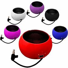 3.5mm PORTABLE RECHARGEABLE MINI CAPSULE SPEAKER  FOR APPLE IPHONES