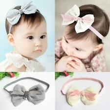 Kids Girl Baby Toddler Infant Flower Headband Hair Bow Band Hair Accessories New