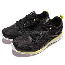 Reebok Sublite Sport Black Yellow Kids Youth Junior Running Shoes Sneaker AR0862