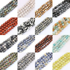 1Bunch Multi Style Beads Natural Loose Spacer Bead Stone Jewelry 4/6/8/10/12mm