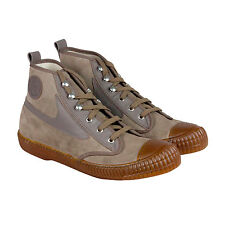Diesel Draags94 Mens Brown Leather High Top Lace Up Sneakers Shoes