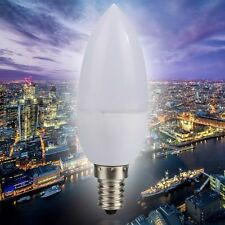 E14-5730-3W Energy Saving LED Bulb Candle Light Lamp Cool/Warm White AC 220V