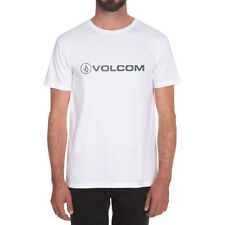 Volcom Euro Pencil Basic Mens T-shirt - White All Sizes