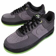 Nike Air Force 1 Elite KJCRD VT Air Max Black Green Mens AF1 Sneakers 748299-002