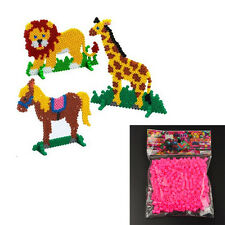 5mm EVA Hama/Perler Beads Toy for Kid Fun Multicolor Creative Educational Toy US