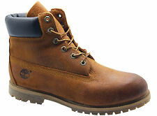 Timberland AF 6 Inch Premium Womens Boots Brown Leather Lace Up 3202R U73