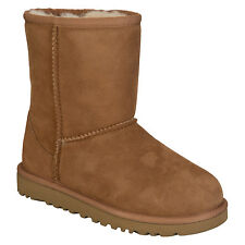 Infant Girls Ugg Australia Classic Sheepskin Boots In Chestnut