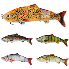 3D Hot Sale Minnow Fishing Lures Crank Bait Hooks Bass Tackle Sinking Popper