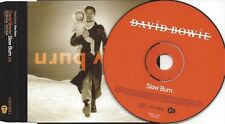 DAVID BOWIE - Slow Burn - rare 1trk Promo-CD-Single + Sheet/2002 ISO Records