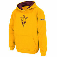 Stadium Athletic Arizona State Sun Devils Youth Gold Big Logo Pullover Hoodie