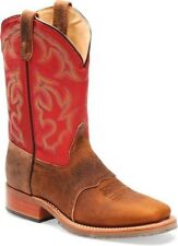 MEN'S DOUBLE H DOMESTIC WIDE SQUARE TOE WESTERN BOOT ICE ROPER DH3556