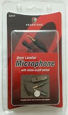 Pearstone OLM-10 Omnidirectional Lavalier Microphone NEW NIB **LAST ONE**