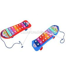 Kids Child Play Hand Knock Xylophone Serinette Musical Beat Toy Gift AS YOU PICK