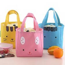 Thermal Portable Insulated Cooler Lunch Picnic Carry Tote Storage Cartoon Bag