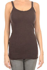 RICK OWENS LILIES New Woman Sleeveless brown wool blended top italy made