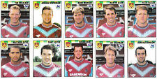 West Ham United - 10 x Merlin's Premier League 95 Sticker, Unused, As listed