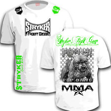 Stryker New Shorts Sleeve T-Shirt Top MMA Tapout UFC Life But  Dog nhb bjj tee w