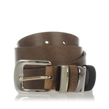 MARTIN MARGIELA MM11 Men Brown Leather Belt Made in Italy New with Tag