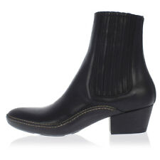 MARTIN MARGIELA MM22 Men New Leather Ankle Boots Black  Original Italy Made