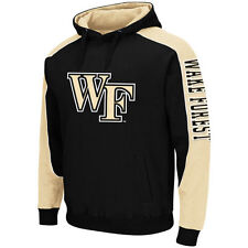 Wake Forest Demon Deacons Black Thriller II Pullover Hoodie