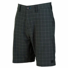 Billabong Charcoal Crossfire X Plaid Hybrid Walkshort