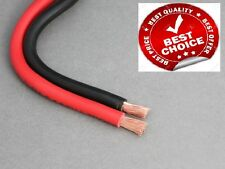 1MTR Red & 1MTR Black 110AMP 16MM BATTERY CABLE BOAT KIT CAR